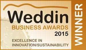 WeddinBusinessAwards2015-Seal-ExcellenceInInnovationSustainability